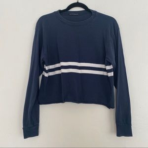 Brandy Melville Crop Long Sleeve Tee